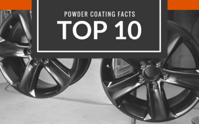 Top 10 facts about powder coating