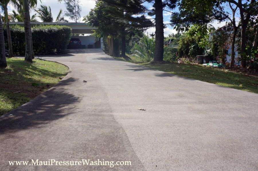 Concrete Power Washing