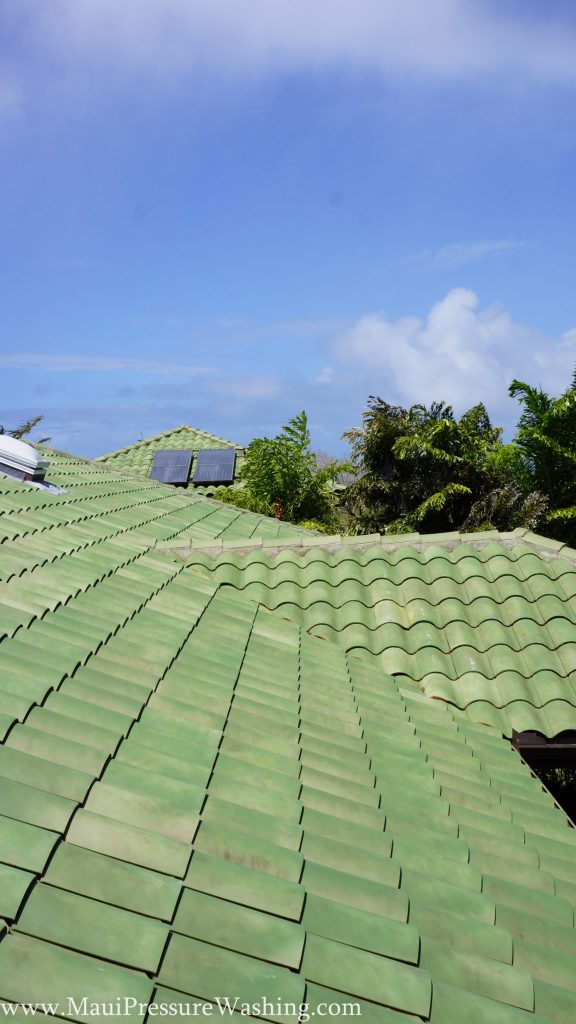 Roof Washing Maui