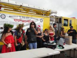 Street Bikers United Maui Hawaii in support of Toys for tots.