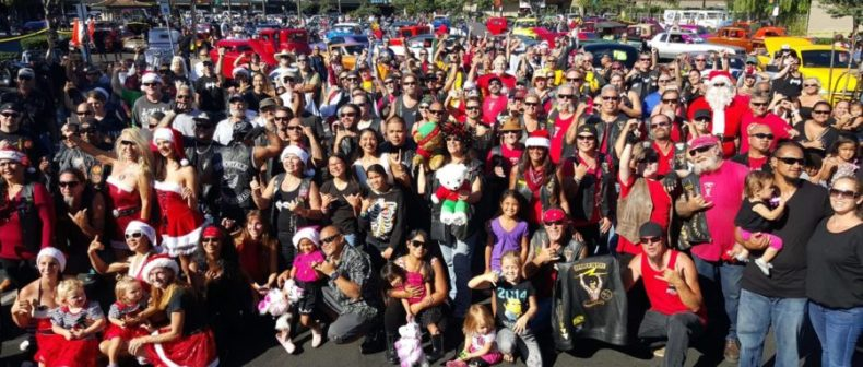 2015 Toys 4 Tots Maui County Hawaii