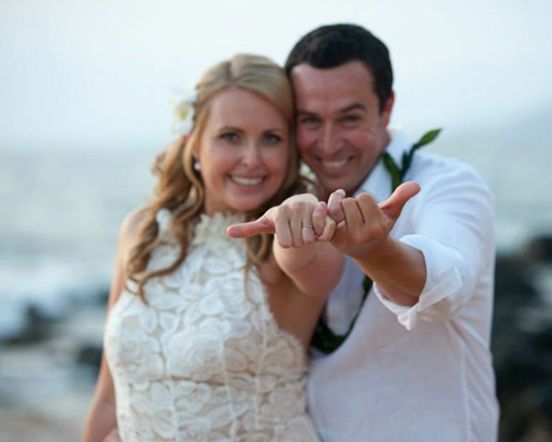 Maui Wedding Packages over the rainbow