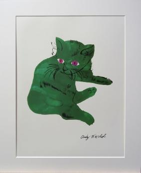 Andy Warhol - Green Cat