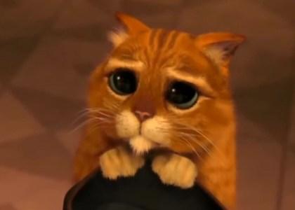 El gato con botas en Shrek 2