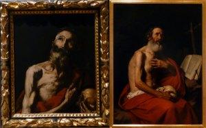 Comparativa de versiones de San Jerónimo