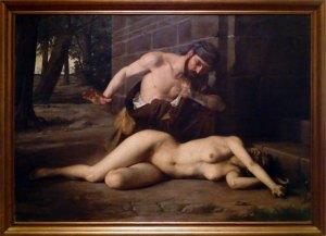 La mujer del levita de los montes de Efraím