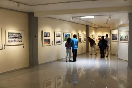 """Exposición """"En El Aire / Up In The Air"""" en el Museo Nacional de la Acuarela, Alfredo Guati Rojo."""