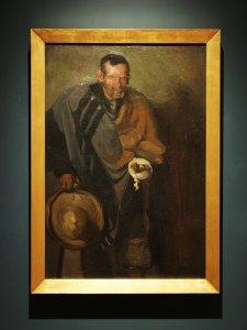 "Pordiosero,1914, Saturnino Herrán, óleo sobre tela, colección INBA / Museo de Aguascalientes, ICA, exposición ""Saturnino Herrán y otros modernistas""."