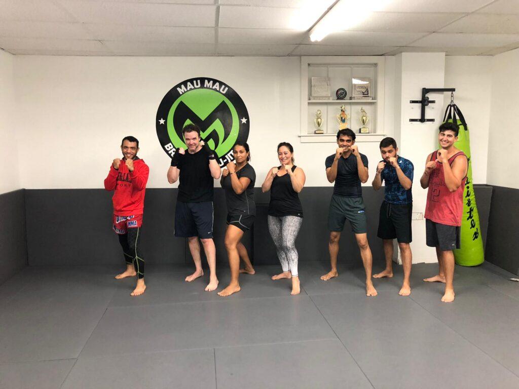 Muay Thai training - Mau Mau BJJ