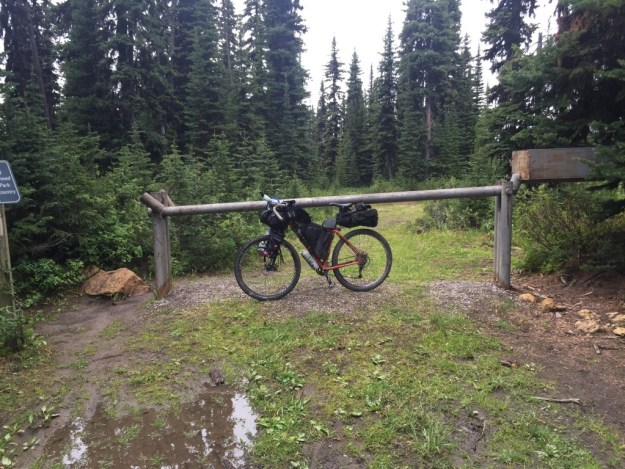 Elk Pass 1st Contentental divide crossing