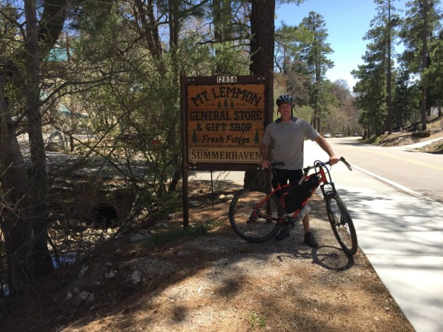 Mt. Lemmon at the town of Summer Haven, AZ