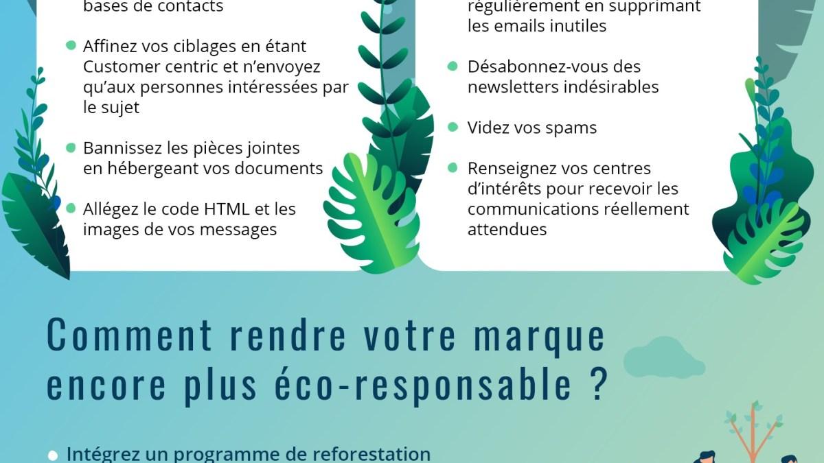 Numérique et écologie et si on commençait par mieux gérer nos courriels !