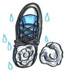 もうすぐ梅雨の季節、防水や撥水加工の靴を履いて梅雨を乗り切ろう!