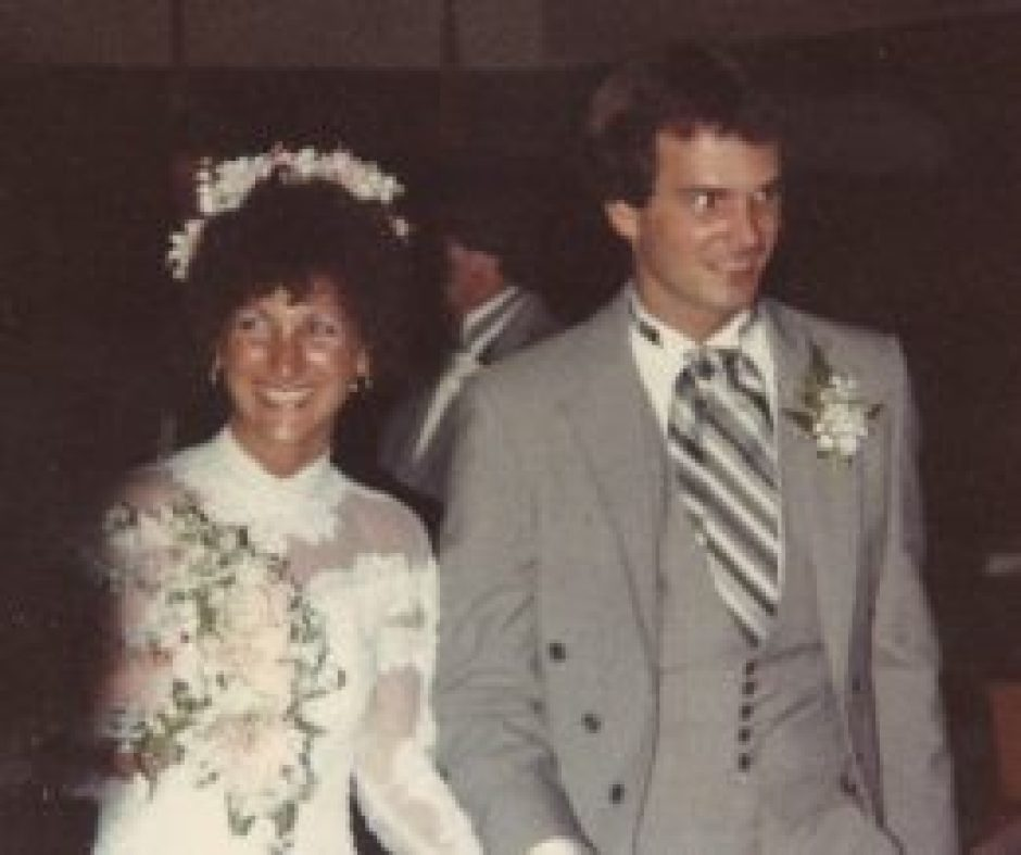 Embarking on a happy new life together - July 24, 1981