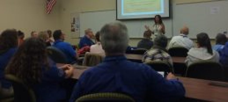 Maura Sweeney speaks on leadership at St. Petersburg College All College Day