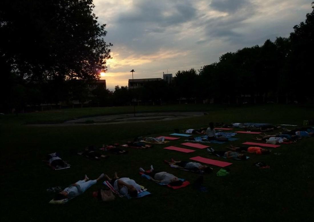 Maura Yoga Campane Tibetane Antiche Evento organizzato da Michele Zoccarato In Forma 365