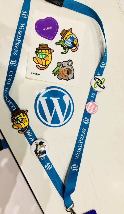 WordCamp is all about using a WordPress website which is great for Blogging