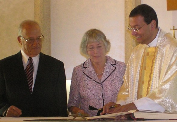 Signing the Register