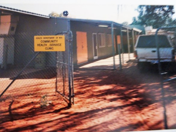 Nursing post when I worked at Jigalong