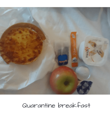 quarantine breakfast