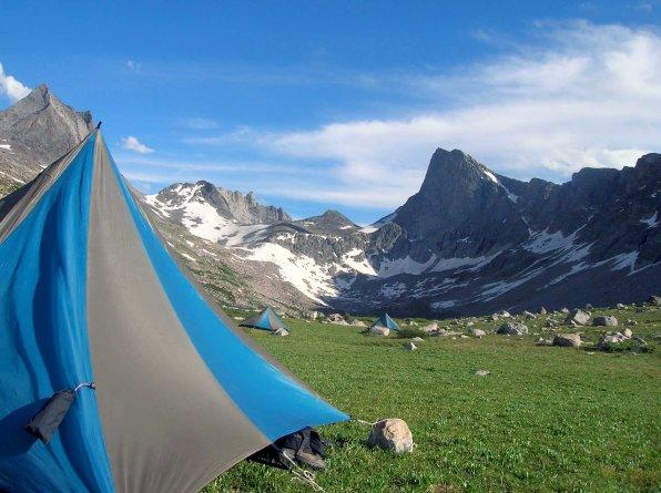 camping-below-pronghorn-pk_4884518820_o