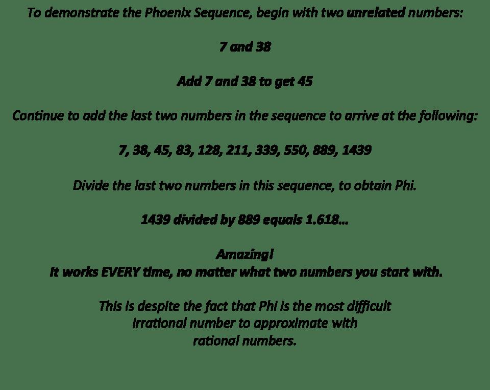 Phoenix sequence