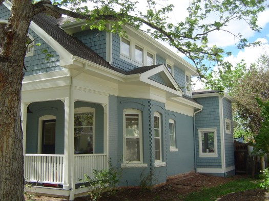 The Owners Of This Beautiful Classic Historic Home In Downtown Boulder Recently Contracted With Maurer Painting To Paint Exterior
