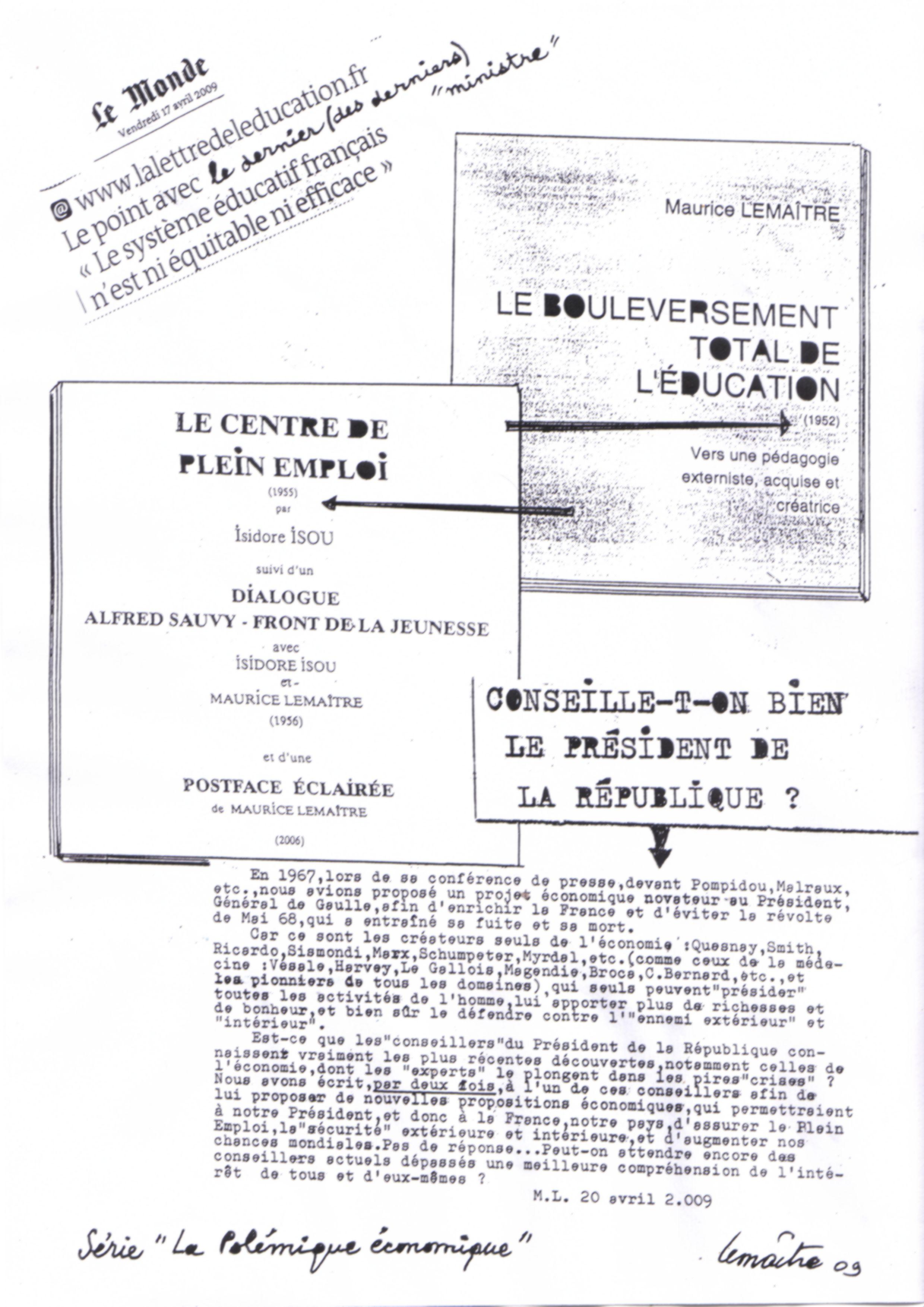 tous ces ouvrages sont disponibles sur http://www.lettrisme.com