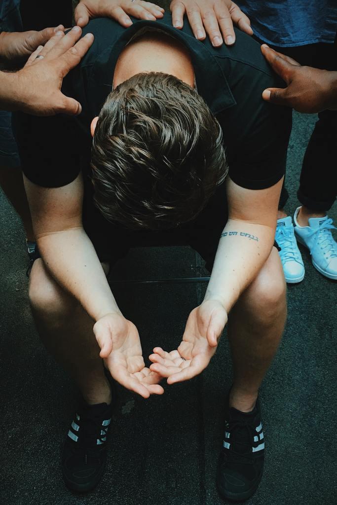People Praying For Healing