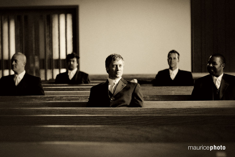 Wedding Pictures at Magnolia Presbyterian Church