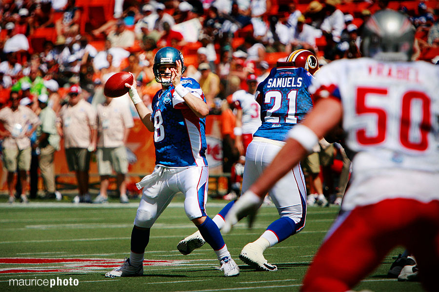 Matt Hasselbeck Pictures in the 2008 Pro Bowl
