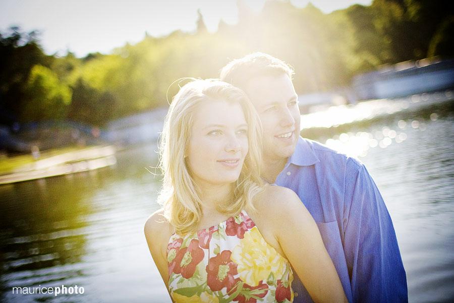 Engagement Portraits at Green Lake