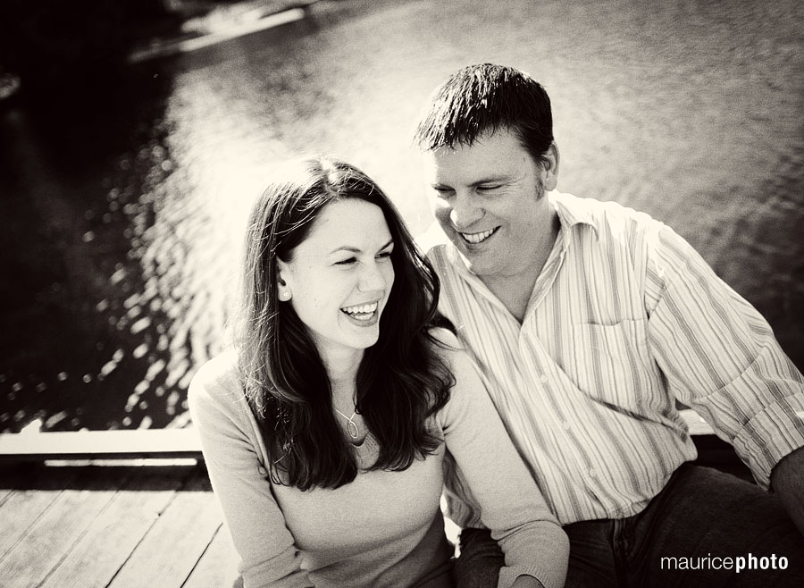 Engagement Photos at Greenlake