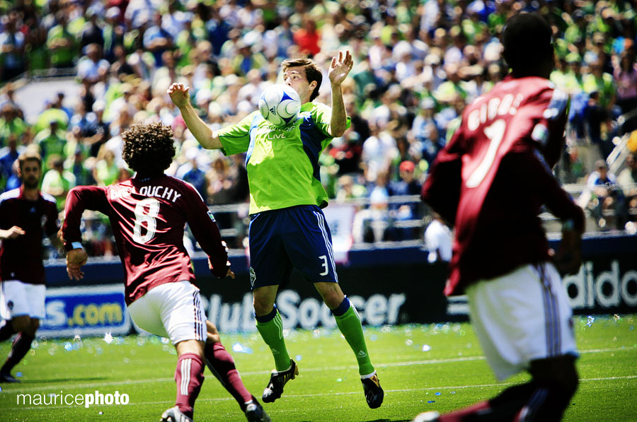 Seattle Sounders FC vs. Colarado Rapids MLS Soccer Pictures