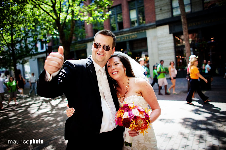 Pioneer Square Wedding Pictures