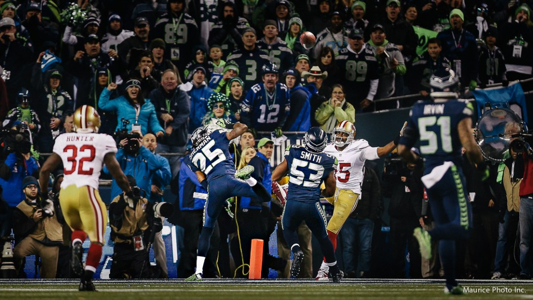 Richard Sherman NFC Championship Crabtree play