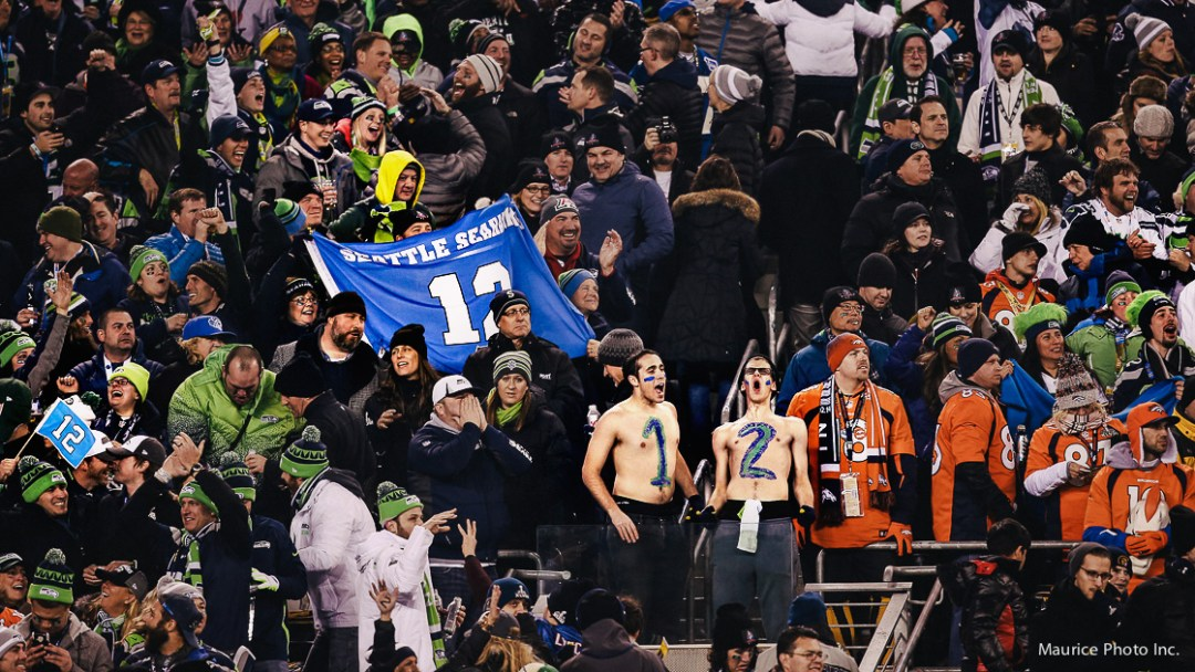 the 12th man at Super Bowl 48