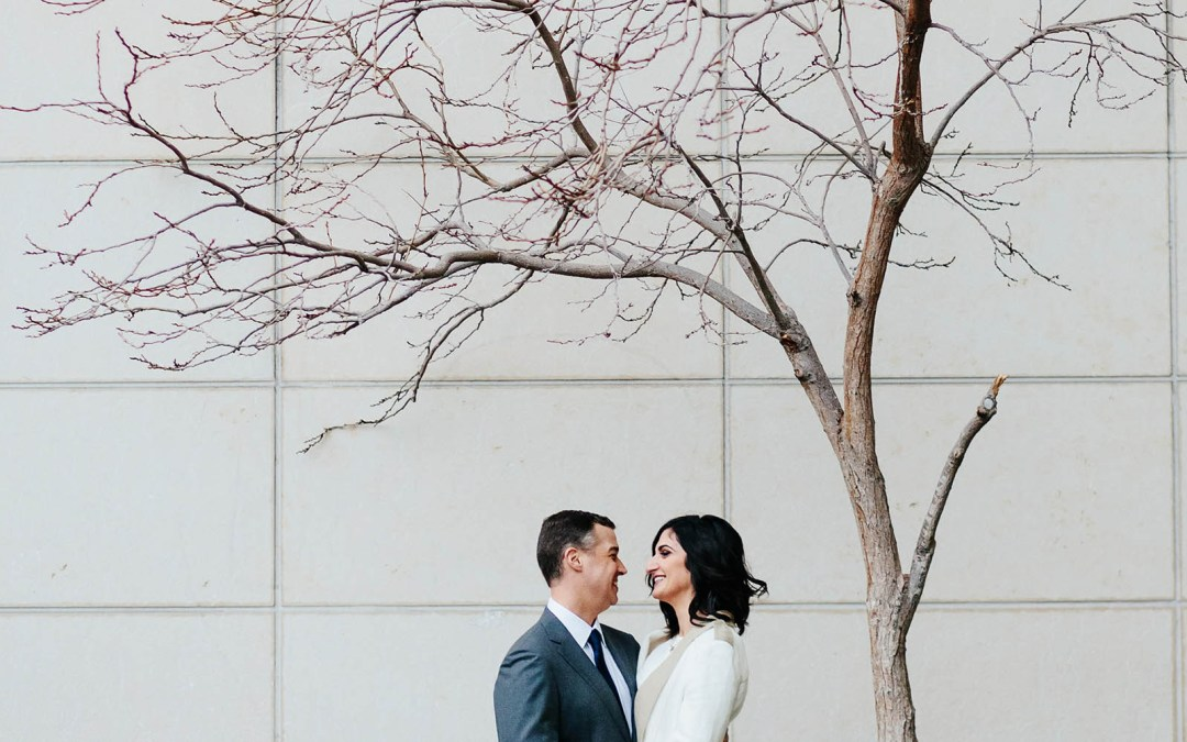 Downtown Seattle Courthouse Wedding
