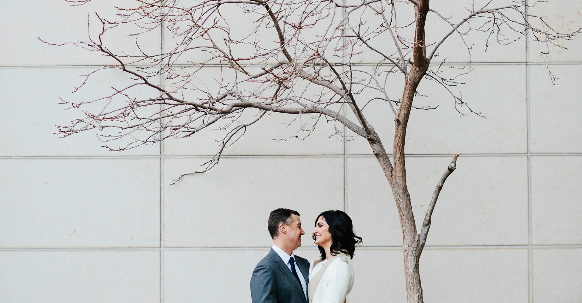 Wedding pictures at the Seattle Courthouse