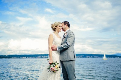 Wedding Photos at Magnuson Park in Seattle