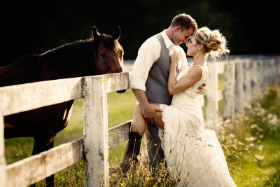 Wedding Pictures at Rein Fire Ranch in Ravensdale WA.