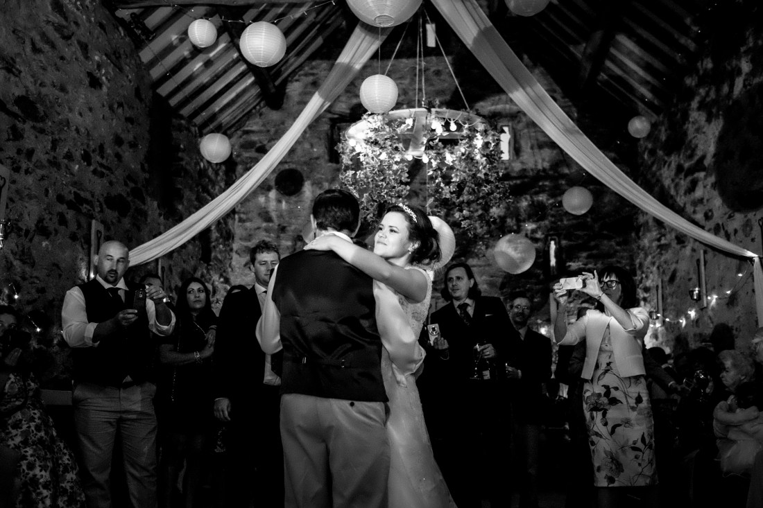 Hafod Farm Wedding - More of the first dance.
