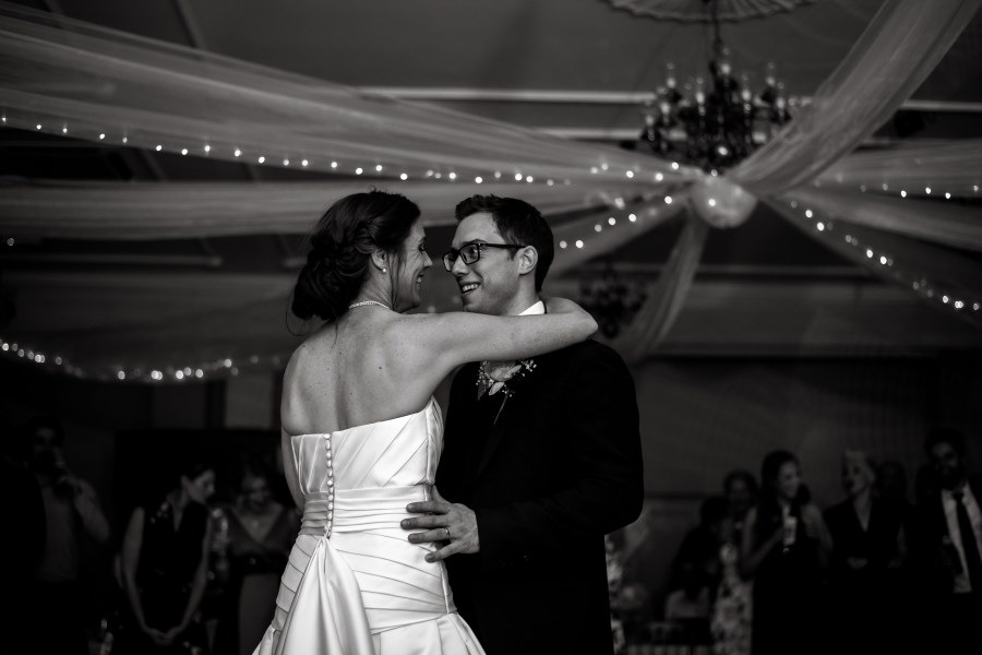 Statham Lodge Wedding - Bride and Groom first dance
