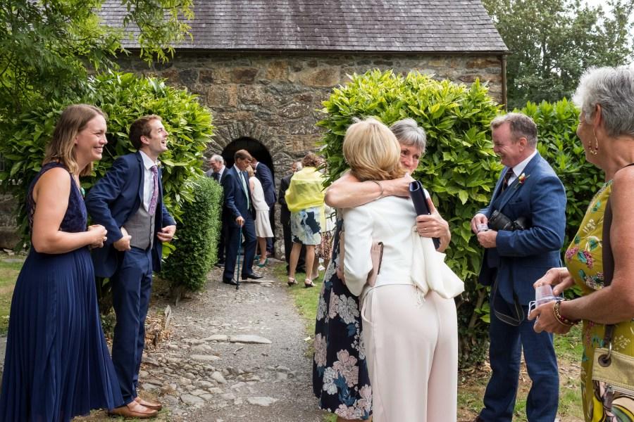 Happy Guests at Penarth Fawr.