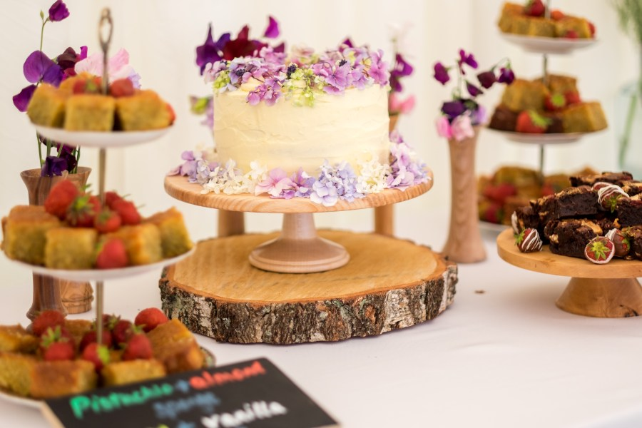 Wedding cake at Red Welly