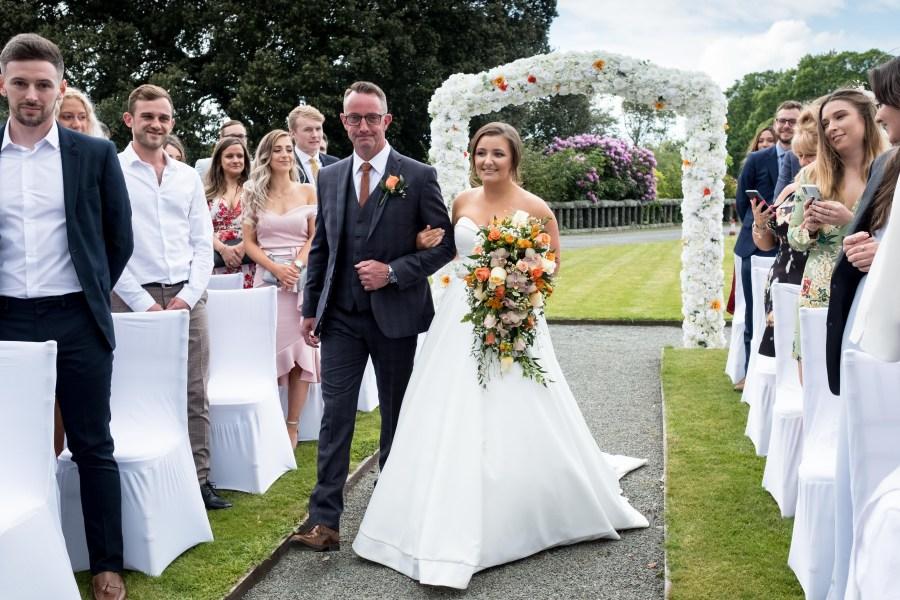Bride at Bron Eifion