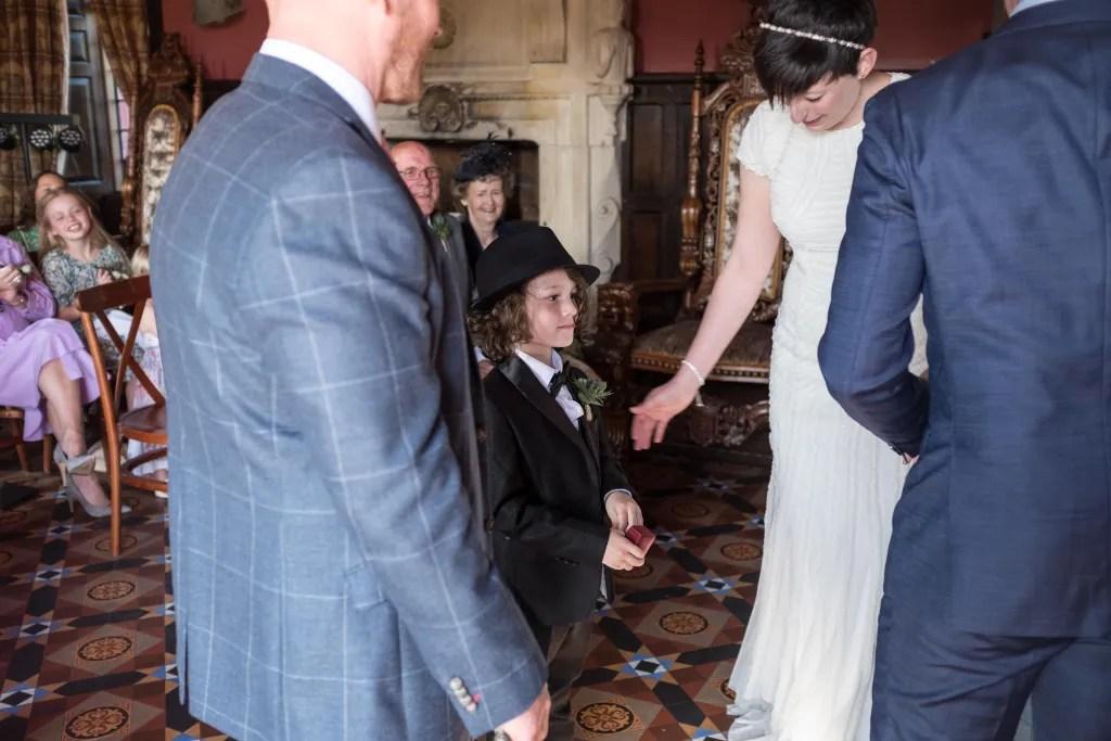 Amazing Llangollen wedding ceremony