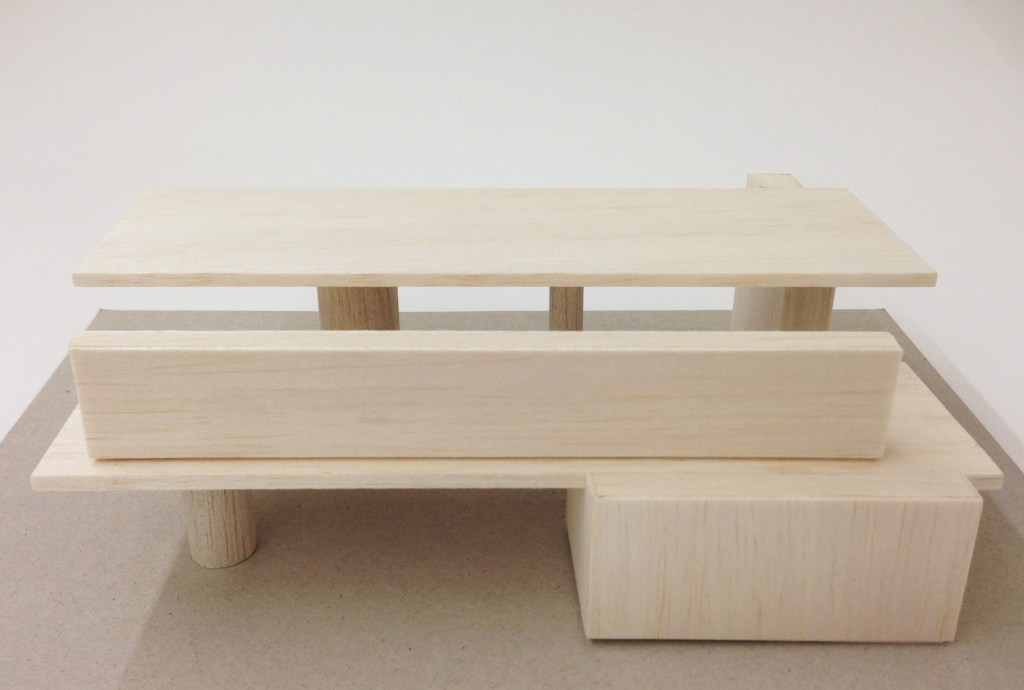 Rietveld House, furniture pieces