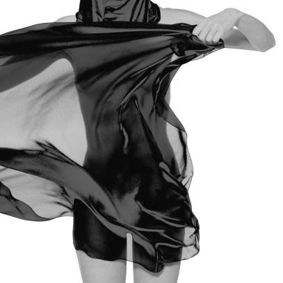 Pawel Czermak, Black and white body, s.d. Bariet art paper, 100 x 100 cm 1/6