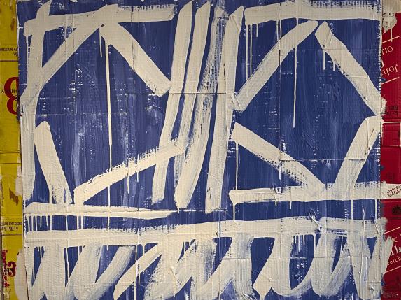 Untitled, 1992 Acryl on canvas 90 x 116 cm